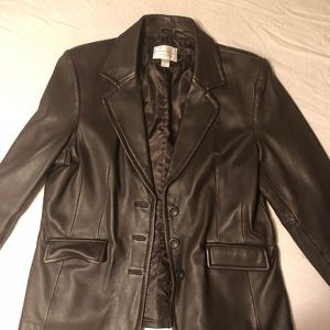 Lambskin Brown Jacket.